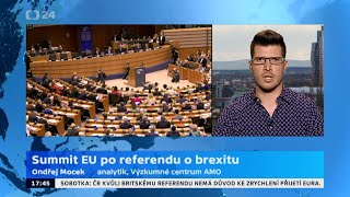 Summit EU po referendu o Brexitu