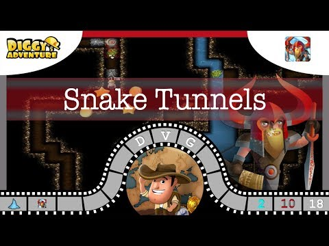 [~heimdall~] #18 Snake Tunnels - Diggy's Adventure
