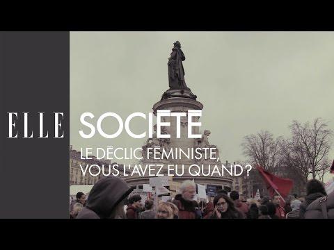 Le déclic féministe, vous l'avez eu quand ? | ELLE Société