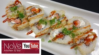 JB Tempura Roll - How To Make Sushi Series by Diaries of a Master Sushi Chef