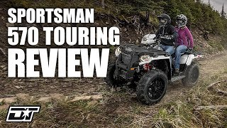 10. Full Review of the 2018 Polaris Sportsman Touring 570