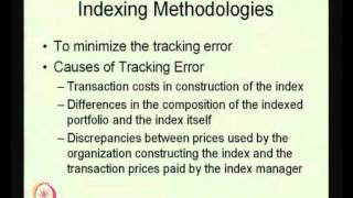 Mod-01 Lec-35 Bond Portfolio Management Strategies - I