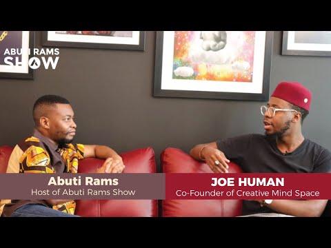 Abuti Rams LIVE - S01E12: Joe Human (Co-Founder of Creative Mind Space)