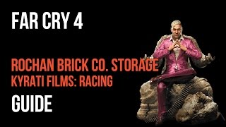 Far Cry 4 Walkthrough Rochan Brick Co. Storage Kyrati Films: Racing Gameplay Let's Play