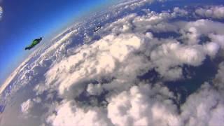 Wingsuit Racing - Human Flight at 140mph!