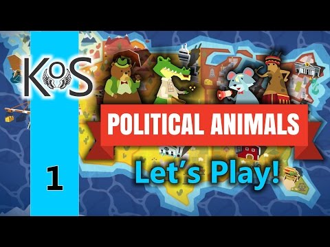 Political Animals - Ep 1 - Tutorial pt 1: Piggy is our Candidate! - Let's Play