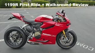 4. First Ride + Walkaround Review - 2014 Ducati Panigale 1199R