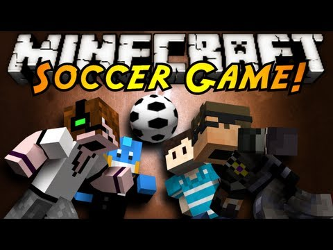 Soccer Game - GOOOOOOOOOOOOAAAALLLLL! THE WORLDS MOST POPULAR SPORT HAS BEEN BROUGHT INTO MINECRAFT! NOTHING LIKE A BIT OF SOCCER! Friends Channels! http://www.youtube.com...