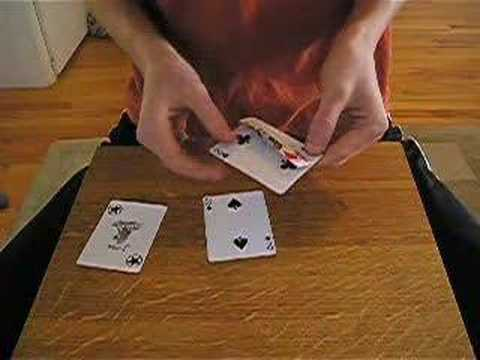 Three Card Monty Card Trick + Explanation