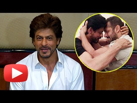 Shahrukh Khan Reacts On Working With Salman Khan I