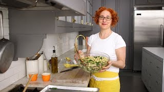 Marinated-Artichoke and Green-Bean Pasta Salad- Everyday Food with Sarah Carey by Everyday Food