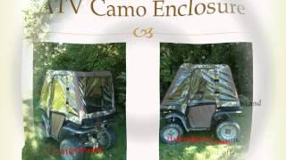 9. ATV Full Cab Camo Enclosure