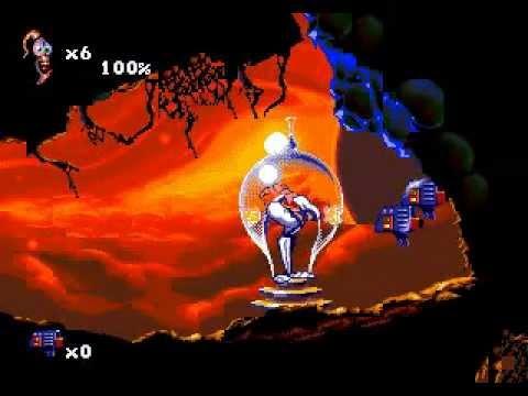 de 2D en 3D, ici Earthworm Jim 3D sorti en 1999 sur Nintendo 64