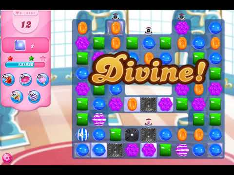 Candy Crush Saga Level 4151 NO BOOSTERS