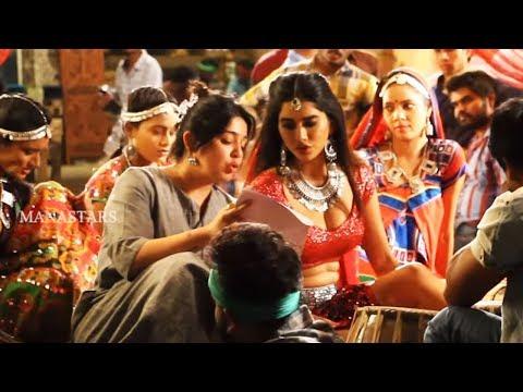Nabha Natesh and Nidhi Agarwal About Dimaak Kharaab Song Making | Ismart Shankar | Manastars