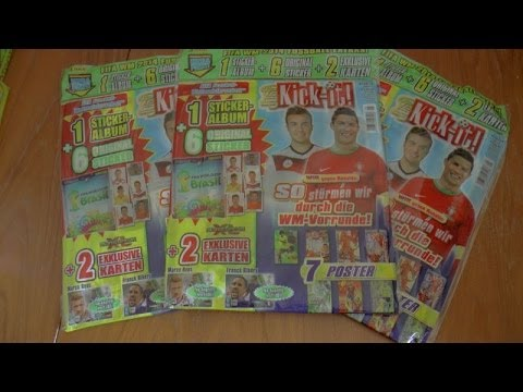 RIBERY & REUS LIMITED EDITIONS ☆ panini ADRENALYN WORLD CUP 2014 ☆ UNBOXING JKI (GER) 5/14 ☆