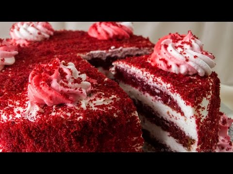 Red Velvet Cake Recipe / Egg-free Cooker Cake / Eggless Baking Without Oven