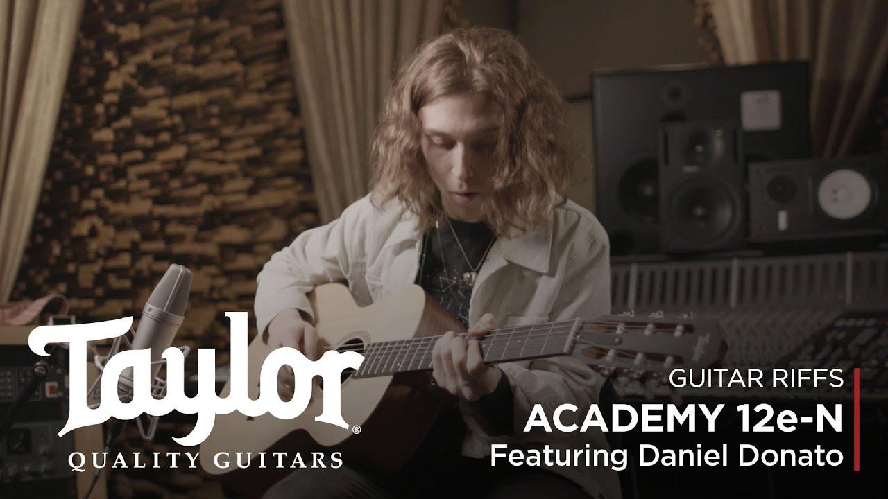 Academy 12e-N | Acoustic Guitar | featuring Daniel Donato