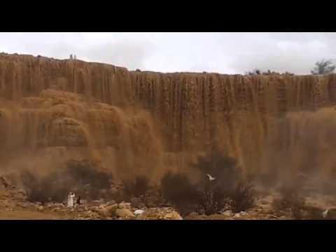 شلال هجرة مناخ طريق نساح جنوب الرياض  14/6/1434