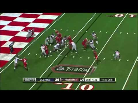 Robbie Rouse vs Ole Miss 2011 video.