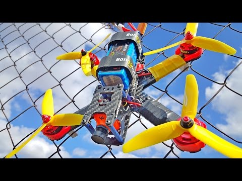 How to Build a FPV racing drone? Lantian+F4+2300KV+ESC 20A...