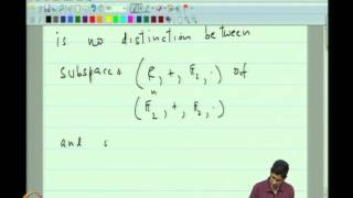 Mod-03 Lec-07 Linear Codes,&Linear Independence