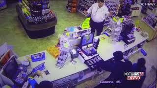 Asalto en gasolinera- Noticias 62 - Thumbnail