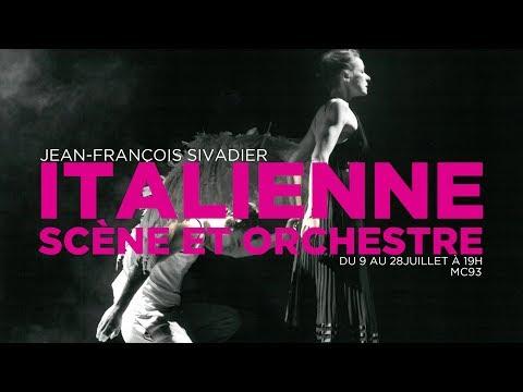 Italienne scène et orchestre