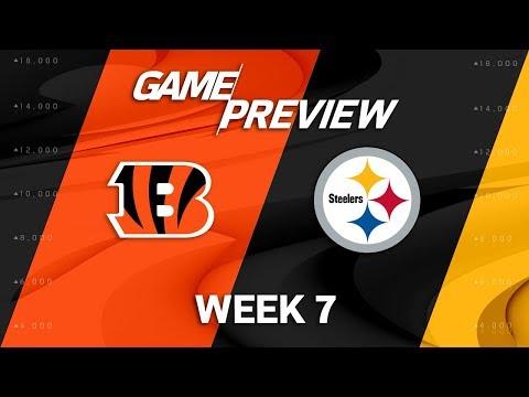 Video: Cincinnati Bengals vs. Pittsburgh Steelers | Week 7 Game Preview | NFL Playbook