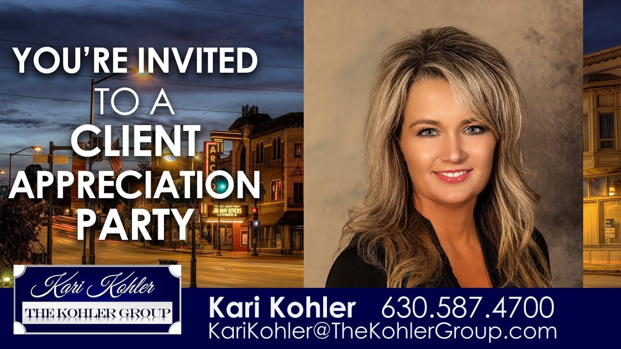 Come Join Us at Our Upcoming Client Appreciation Party