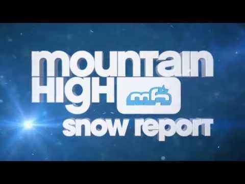 Mountain High Snow Report 12/17