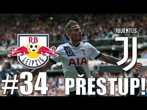FIFA 17 | RB Lipsko-Juventus | PŘESTUPOVÉ OBDOBÍ!!! | PART 34 | XBOX ONE | CZ/SK