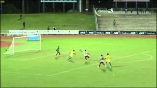 2014 OFC U-20 Championship / MD3 / New Caledonia vs Solomon Islands Highlights