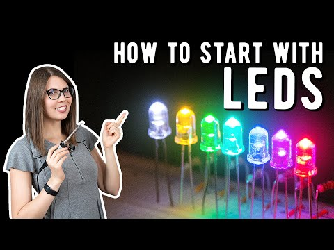 Getting started with LEDs
