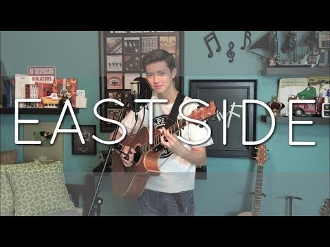 Video Eastside - Halsey,  Khalid & Benny Blanco - Cover (vocal / fingerstyle guitar). Now on Spotify download in MP3, 3GP, MP4, WEBM, AVI, FLV January 2017