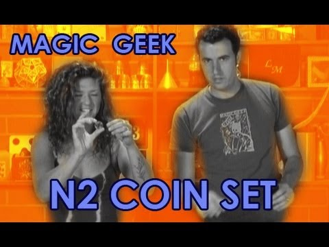 N2 Coin Set Magic Trick