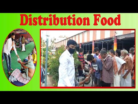Distribution Food to Poor People by Siva City Youth Congress Gen Secretary in Visakhapatnam,Vizagvision...