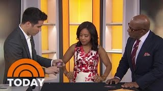 "Magician and author of ""Spellbound"" David Kwong brought his trickery to TODAY to fool Sheinelle Jones and Al Roker."