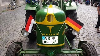 Alsfeld Germany  city pictures gallery : Antique Tractor and Farm Equipment show in Alsfeld, Germany