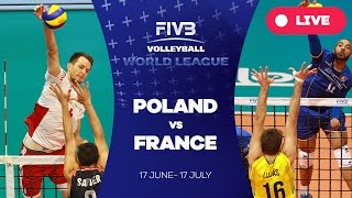 Poligne France  city images : Poland v France - Group 1: 2016 FIVB Volleyball World League