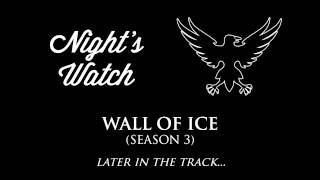 The Night's Watch theme that often plays in the soundtrack when they're on screen, or when a plot-point involving them is taking place.Check out the playlist for more themes, including an awesome hour-long compilation of all of them! Just press play, sit back & enjoy.Music composed by: Ramin DjawadiFont: Wisdom Script by James T. EdmondsonNight's Watch Sigil: liquidsouldesign.deviantart,com