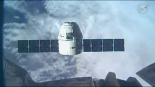 SpaceX Dragon Arrival at International Space Station 2017