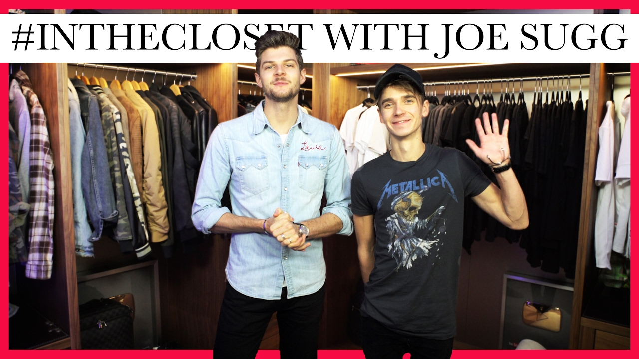 WARDROBE TOUR | #INTHECLOSET WITH JOE SUGG