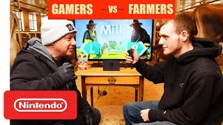 Billings Farm and Museum in Woodstock, Vermont challenge Nintendo to learn to milk a real cow and to play against them in Milk- one of the 28 games that are ...