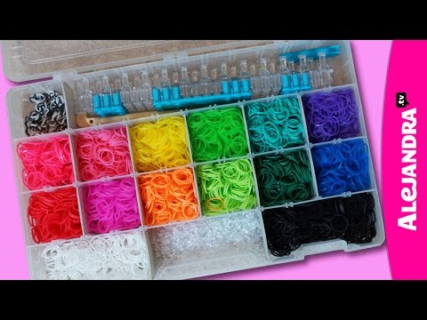 How to Store Rainbow Loom Rubber Bands