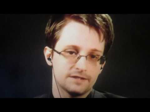 Edward Snowden on Who To Vote For (Live at McGill, November 2, 2016)