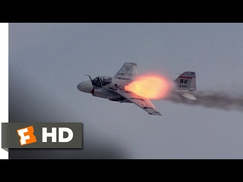Flight of the Intruder (9/10) Movie CLIP - Gunned Down (1991) HD