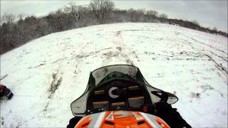 8. Tiny uphill jump on Arctic Cat F5