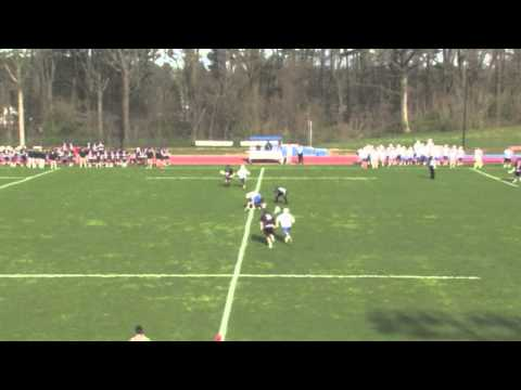Goucher vs. Catholic Highlights - 4/17/14