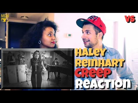 Video Haley Reinhart sings 'Creep' Vintage (VS) Reaction download in MP3, 3GP, MP4, WEBM, AVI, FLV January 2017